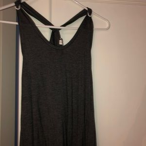 **2 for $25!!**Gap grey Maxi dress